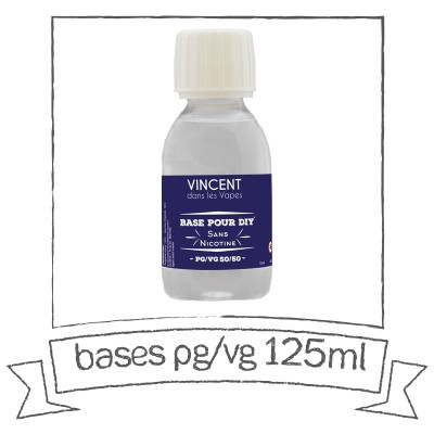 Base VDLV 125 ml Sans Nicotine en 50/50