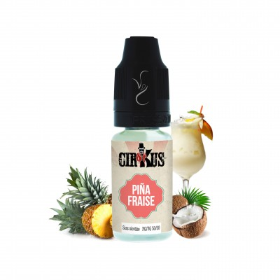 E-liquide Pina fraise - Cirkus - 10ml