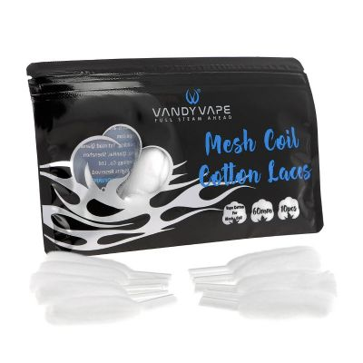 Mesh coil cotton laces - Vandy Vape